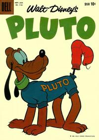 Cover Thumbnail for Four Color (Dell, 1942 series) #1143 - Walt Disney's Pluto