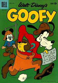 Cover Thumbnail for Four Color (Dell, 1942 series) #1149 - Walt Disney's Goofy