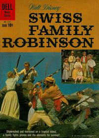Cover Thumbnail for Four Color (Dell, 1942 series) #1156 - Walt Disney Swiss Family Robinson