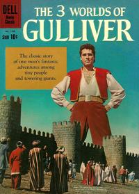Cover Thumbnail for Four Color (Dell, 1942 series) #1158 - The 3 Worlds of Gulliver