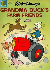 Cover Thumbnail for Four Color (Dell, 1942 series) #1161 - Walt Disney's Grandma Duck's Farm Friends