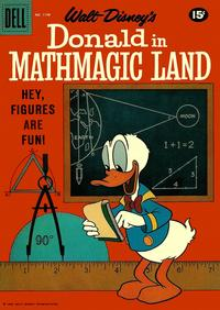 Cover Thumbnail for Four Color (Dell, 1942 series) #1198 - Walt Disney's Donald in Mathmagic Land
