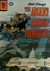 Cover Thumbnail for Four Color (Dell, 1942 series) #1199 - Walt Disney's The Absent Minded Professor