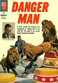 Cover Thumbnail for Four Color (Dell, 1942 series) #1231 - Danger Man