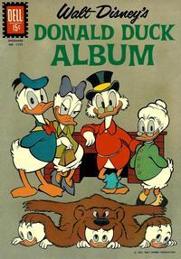 Cover Thumbnail for Four Color (Dell, 1942 series) #1239 - Walt Disney's Donald Duck Album
