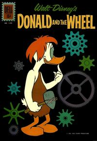 Cover Thumbnail for Four Color (Dell, 1942 series) #1190 - Walt Disney's Donald and the Wheel