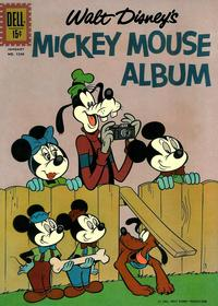 Cover Thumbnail for Four Color (Dell, 1942 series) #1246 - Walt Disney's Mickey Mouse Album
