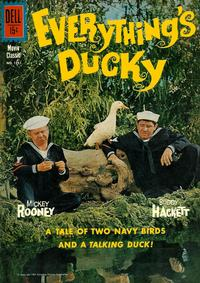 Cover Thumbnail for Four Color (Dell, 1942 series) #1251 - Everything's Ducky