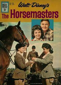 Cover Thumbnail for Four Color (Dell, 1942 series) #1260 - Walt Disney's The Horsemasters