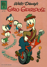 Cover Thumbnail for Four Color (Dell, 1942 series) #1267 - Walt Disney's Gyro Gearloose