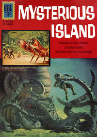 Cover Thumbnail for Four Color (Dell, 1942 series) #1213 - Jules Verne's Mysterious Island