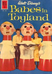 Cover Thumbnail for Four Color (Dell, 1942 series) #1282 - Walt Disney's Babes in Toyland