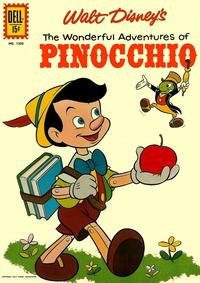 Cover Thumbnail for Four Color (Dell, 1942 series) #1203 - Walt Disney's The Wonderful Adventures of Pinocchio