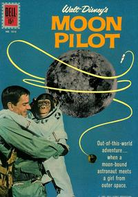 Cover Thumbnail for Four Color (Dell, 1942 series) #1313 - Walt Disney's Moon Pilot