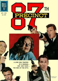 Cover Thumbnail for Four Color (Dell, 1942 series) #1309 - 87th Precinct