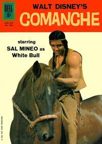 Cover Thumbnail for Four Color (Dell, 1942 series) #1350 - Walt Disney's Comanche