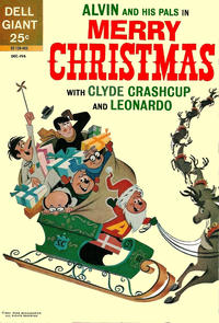 Cover Thumbnail for Alvin and His Pals in Merry Christmas with Clyde Crashcup and Leonardo (Dell, 1963 series) #1
