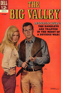 Cover Thumbnail for The Big Valley (Dell, 1966 series) #5