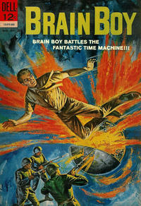 Cover Thumbnail for Brain Boy (Dell, 1962 series) #4
