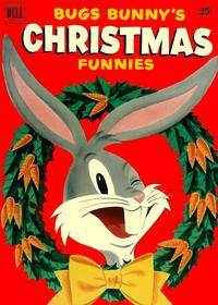 Cover Thumbnail for Bugs Bunny's Christmas Funnies (Dell, 1950 series) #2