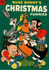 Cover Thumbnail for Bugs Bunny's Christmas Funnies (Dell, 1950 series) #4