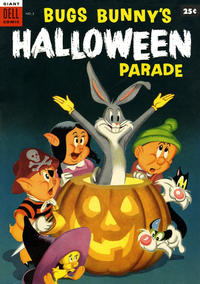Cover for Bugs Bunny's Halloween Parade (Dell, 1953 series) #2 [30 cent edition]