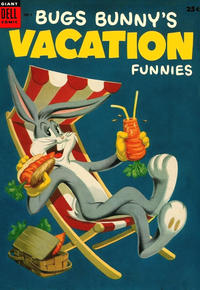 Cover Thumbnail for Bugs Bunny's Vacation Funnies (Dell, 1951 series) #4