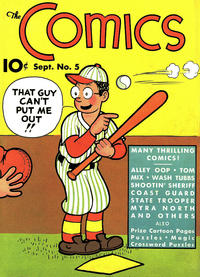 Cover Thumbnail for The Comics (Dell, 1937 series) #5