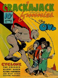 Cover Thumbnail for Crackajack Funnies (Western, 1938 series) #40