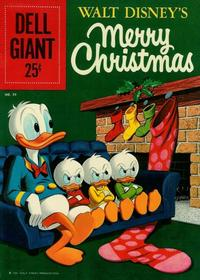 Cover Thumbnail for Dell Giant (Dell, 1959 series) #39 - Walt Disney's Merry Christmas