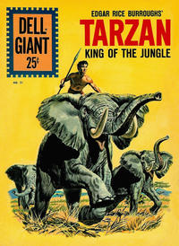 Cover Thumbnail for Dell Giant (Dell, 1959 series) #51 - Edgar Rice Burroughs' Tarzan King of the Jungle