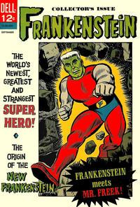 Cover Thumbnail for Frankenstein (Dell, 1963 series) #2