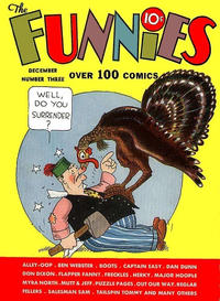 Cover Thumbnail for The Funnies (Dell, 1936 series) #3