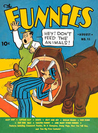 Cover Thumbnail for The Funnies (Dell, 1936 series) #11