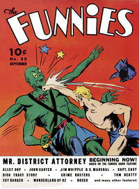 Cover Thumbnail for The Funnies (Dell, 1936 series) #35