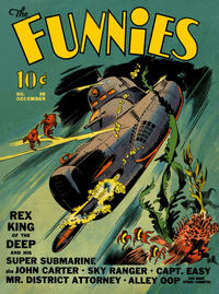 Cover Thumbnail for The Funnies (Dell, 1936 series) #38