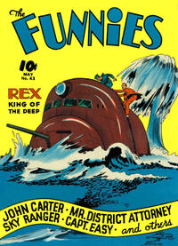 Cover Thumbnail for The Funnies (Dell, 1936 series) #43