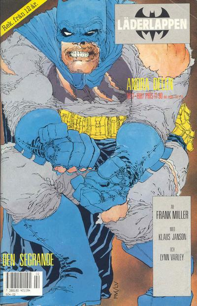 Cover for Läderlappen (Semic, 1987 series) #2/1987