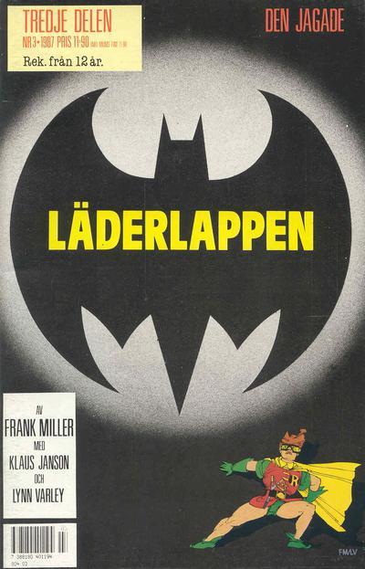 Cover for Läderlappen (Semic, 1987 series) #3/1987