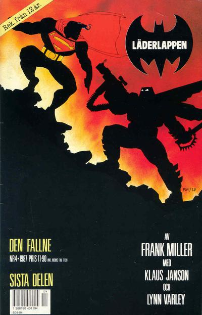 Cover for Läderlappen (Semic, 1987 series) #4/1987