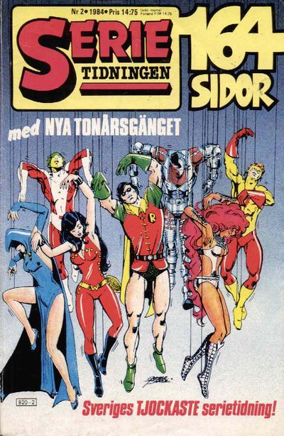 Cover for Serietidningen (Semic, 1984 series) #2/1984