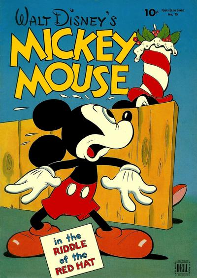Cover for Four Color (Dell, 1942 series) #79 - Walt Disney's Mickey Mouse