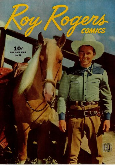 Cover for Four Color (Dell, 1942 series) #86 - Roy Rogers Comics