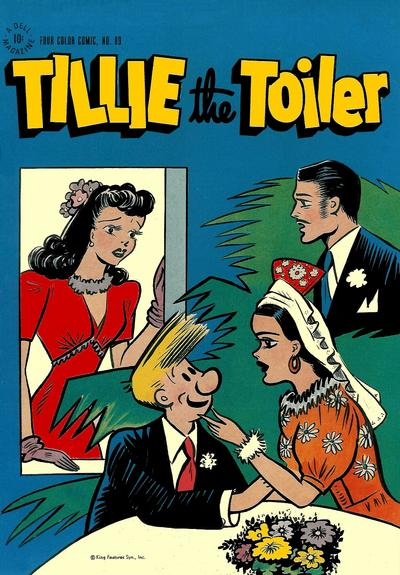 Cover for Four Color (Dell, 1942 series) #89 - Tillie the Toiler