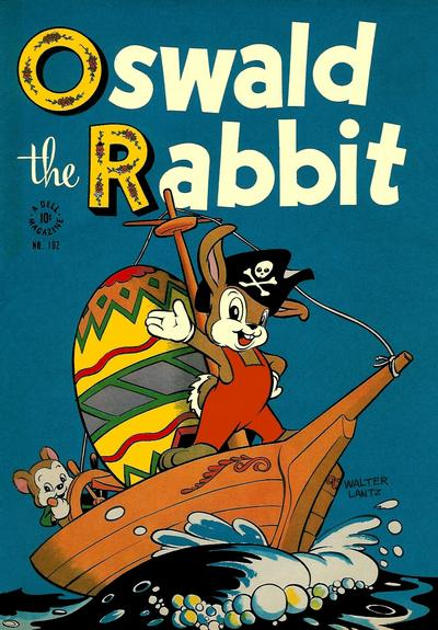 Cover for Four Color (Dell, 1942 series) #102 - Oswald the Rabbit