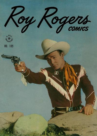 Cover for Four Color (Dell, 1942 series) #109 - Roy Rogers Comics