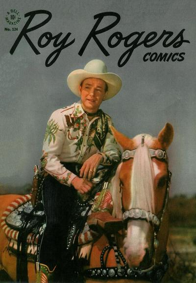 Cover for Four Color (Dell, 1942 series) #124 - Roy Rogers Comics
