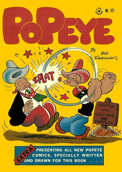 Cover for Four Color (Dell, 1942 series) #127 - Popeye
