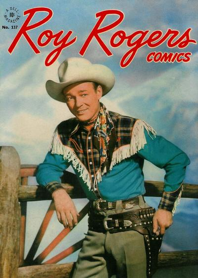 Cover for Four Color (Dell, 1942 series) #137 - Roy Rogers Comics