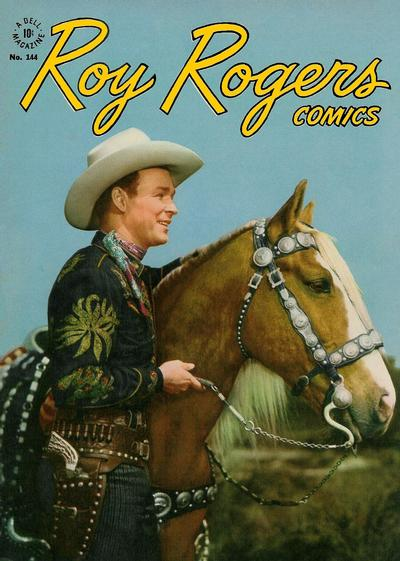 Cover for Four Color (Dell, 1942 series) #144 - Roy Rogers Comics